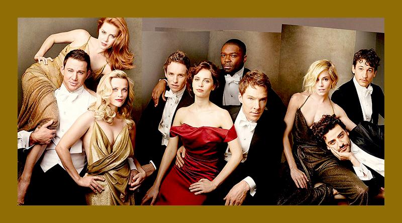 Invasão Britânica na Vanity Fair Hollywood Edition 2015